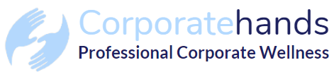 Corporate hands logo