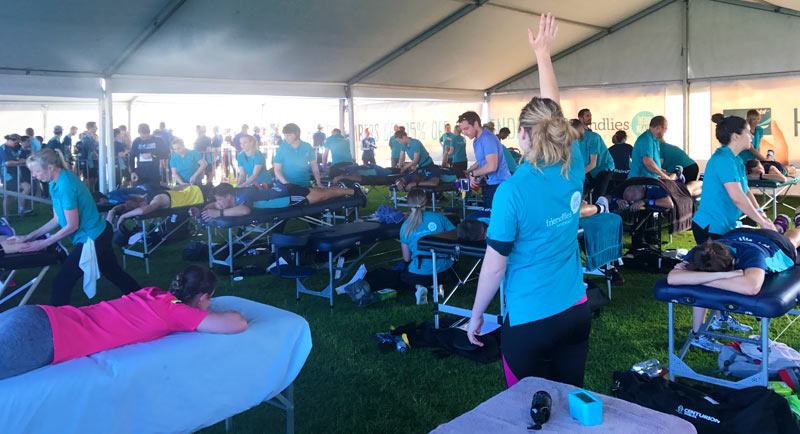 Corporate Event Massage