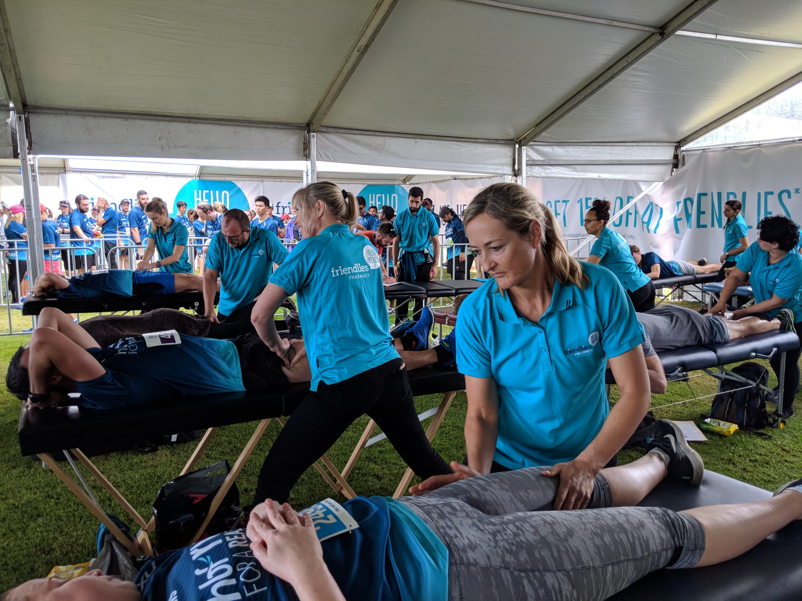 Sports Massage Events Darwin