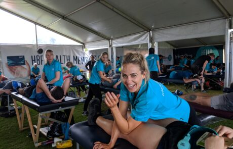 Sports Massage for Events